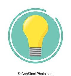 electricidade, bulbo leve