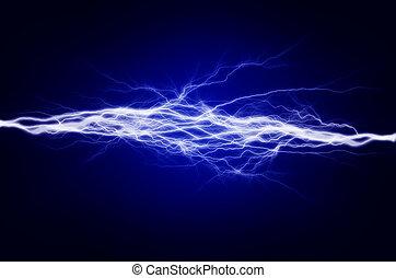 electricidade, energia, puro