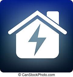 electricidade, lar