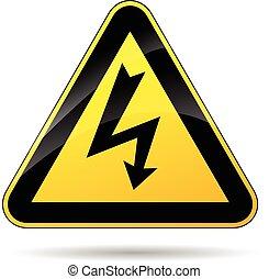 electricidade, sinal