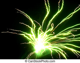 Electricity 2 - Fireworks that look like electricity