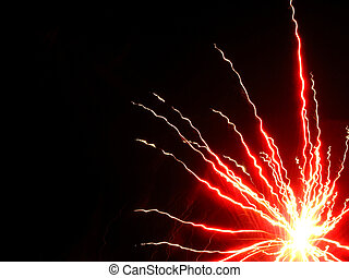 Electricity - Fireworks that look like electricity