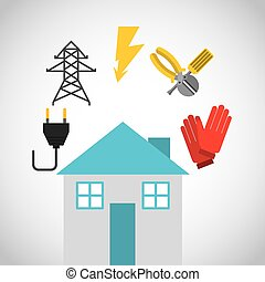 electricity concept design