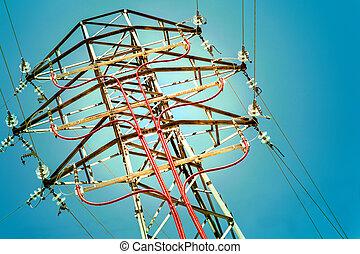 Electricity concept.
