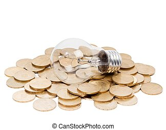 Electricity Consumption - Conceptual image - classic light...