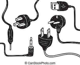electricity cord