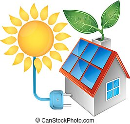Electricity from solar energy