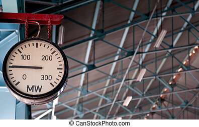 Electricity meter - Electrical energy clock meter