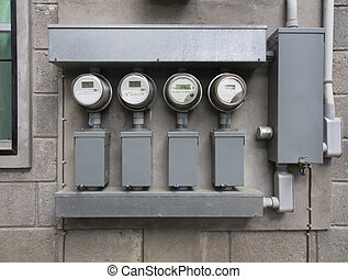 Electricity power house meters