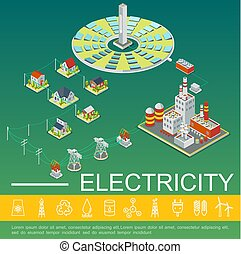 Electricity Production And Distribution Template