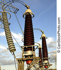 Electricity Supply - Electricity supply ceramic conductors...