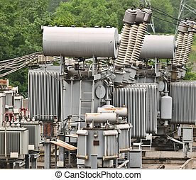 Electricity - the electrical substation