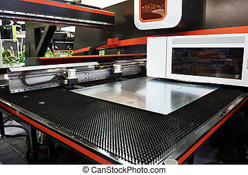 Electro mechanical coordinate and turret punch press CNC -...