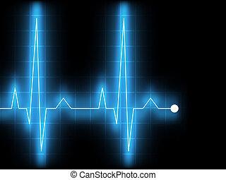 Electrocardiogram. EPS 8 - Electrocardiogram (EKG). EPS 8 ...