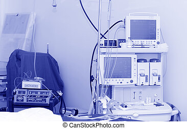 Electrocardiogram in operation room