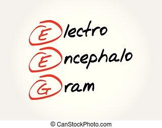 electroencephalogram, acronyme, eeg, -