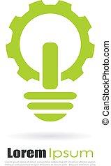 Electromechanics industry logo