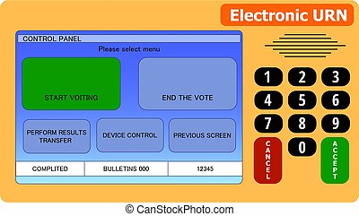 electronic ballot box in the presidential and parliamentary elections