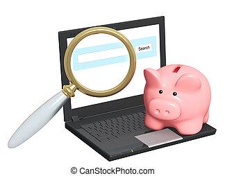 Electronic bank account