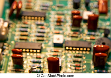 Electronic board.
