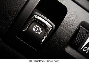Electronic Brake Button