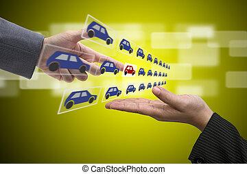 Electronic Car Showroom