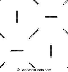 Electronic cigarette pattern seamless black