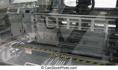 Electronic circuit board production