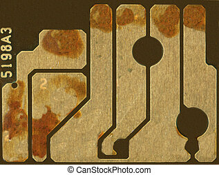 electronic circuit for use as a background