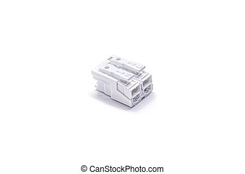 Electronic components. One compact splicing connector or ...