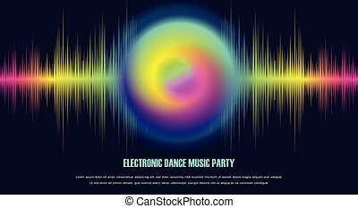 Electronic Dance Music Party Banner