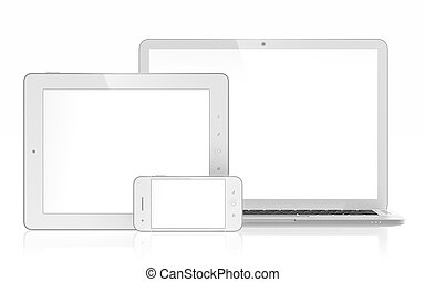 Electronic devices - 3D illustration of electronic devices...