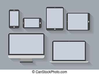 electronic devices with blank screens - Electronic devices ...