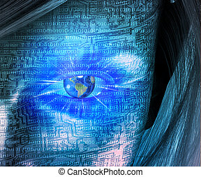 Electronic earth eye