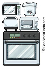 Electronic equipments used in kitchen