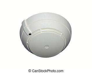 Electronic Fire detector device to be installed on the ceilings