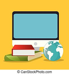 electronic learning with computer