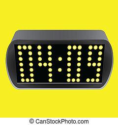 Electronic luminous watches - Electronic clock with luminous...