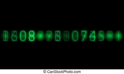 electronic numbers