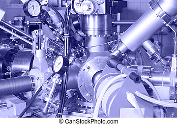 Electronic parts of ION Accelerator - Important CNC machined...