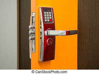 Electronic Security door lock