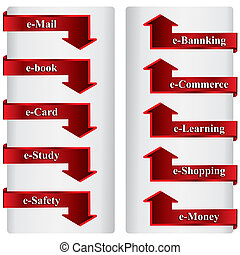 electronic services symbols
