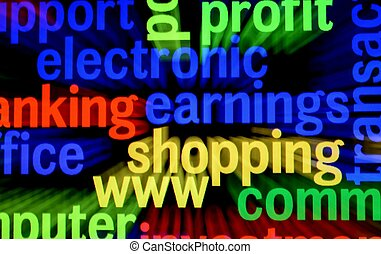 Electronic shopping concept