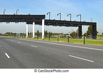 Electronic toll gate - Electronic toll collection gate