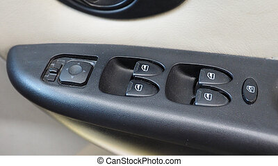 Electronic window switcher of car