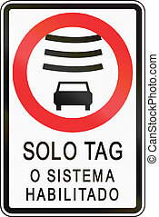 Electronically Tagged Vehicles Only In Chile - Regulatory...