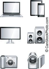 electronics., computadores