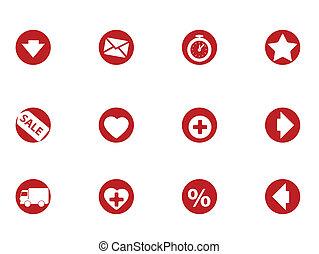 Electronics web icons set