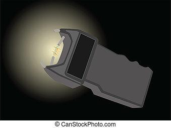 Electroshock device
