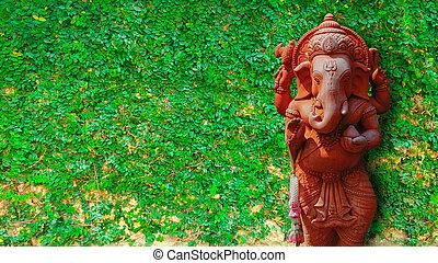 elefant, gott
